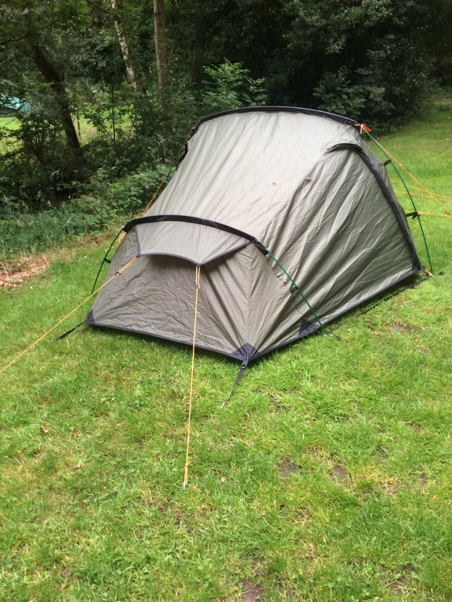 Vango Banshee 300 at Fieldhead