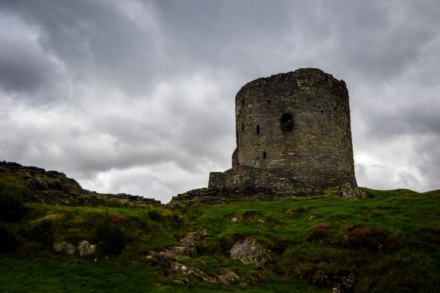 Dolbadarn fort in Llanberis